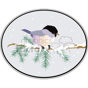 Little Bird clipart. Royalty-free image # 391527