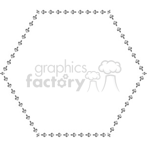heart frame swirls boutique design border 2 clipart. Royalty-free image # 392499
