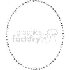 heart frame swirls boutique design border 3 clipart. Royalty-free image # 392504