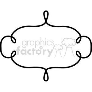 lines frame swirls boutique sign design border 5 clipart. Royalty-free image # 392579