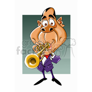 louis armstrong cartoon character