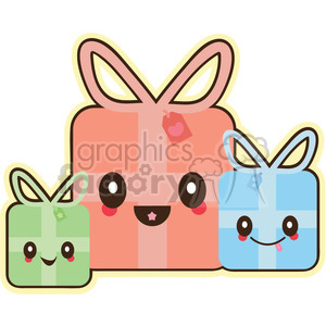cartoon cute character funny christmas gifts presents