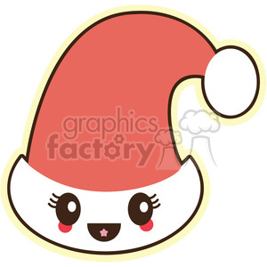 santa hat clipart. Commercial use image # 393513