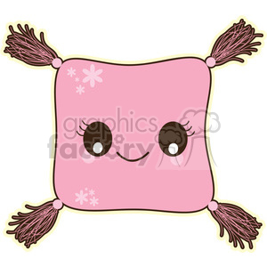 cartoon character characters funny cute pillow cushion pink