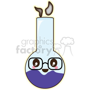 Lab Jar vector clip art image clipart. Royalty-free image # 393808