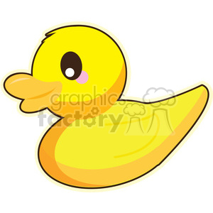 cartoon Duck illustration clip art image clipart. Royalty-free image # 393838