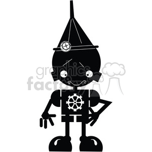 Robot Boy 01 clipart. Commercial use image # 394074