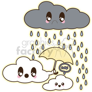 Clouds clipart. Royalty-free image # 394595