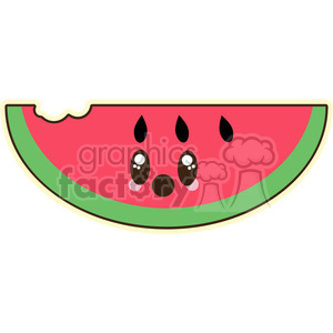 Watermelon clipart. Royalty-free image # 394605