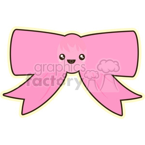 cute cartoon bow bowtie pink