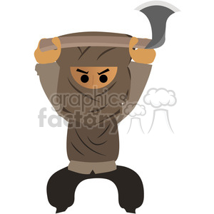 Isis terrorist clipart. Commercial use image # 394675