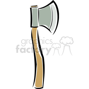 wood axe clipart. Royalty-free image # 173708