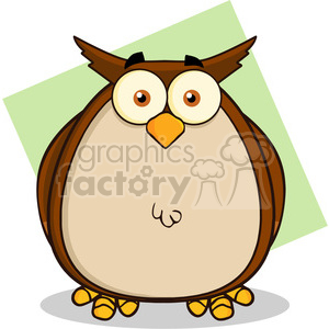 Illustration Owl Cartoon Mascot Character clipart. Commercial use image # 395572