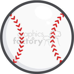 Baseball Ball clipart. Royalty-free image # 396083