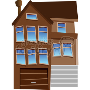 townhouse clipart clipart. Commercial use image # 162886
