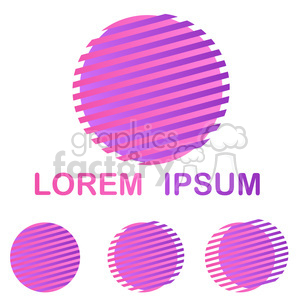 logo template circle 012 clipart. Commercial use image # 397258