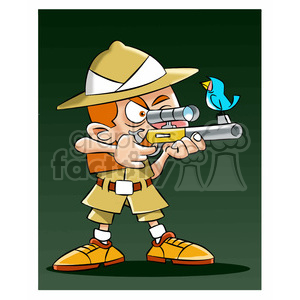 leo the cartoon safari character clipart. Royalty-free image # 397662
