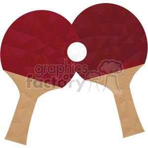 Ping Pong paddles clipart. Commercial use image # 397950