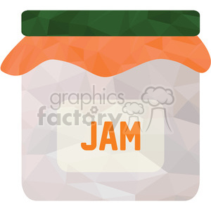 Jar of jam clipart. Royalty-free image # 397970