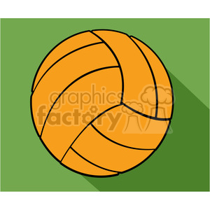 sports equipment volleyball illustration clipart. Commercial use image # 398140