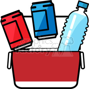 soda pop can beverage soda+can cooler summer ice+box water water+bottle blue opened open rg