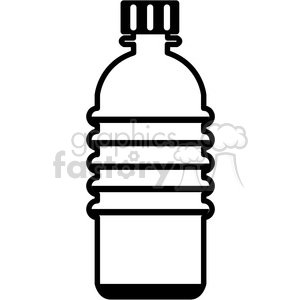water bottle icon with no label and no tab clipart. Royalty-free image # 398250