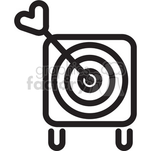 target icon clipart. Commercial use image # 398355