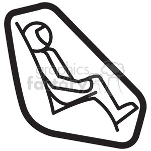 astronaut in cockpit clipart. Royalty-free icon # 398482