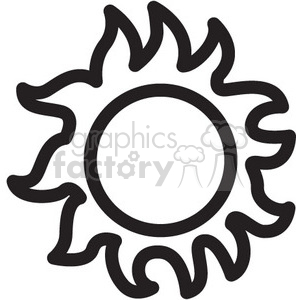 sun vector icon clipart. Royalty-free icon # 398512