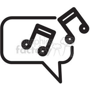 music vector icon clipart. Royalty-free image # 398563
