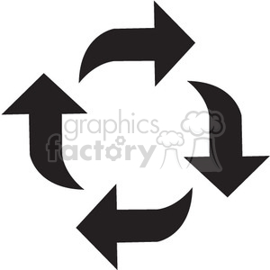 refresh vector icon clipart. Royalty-free image # 398573