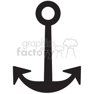 anchor vector icon clipart. Royalty-free image # 398596