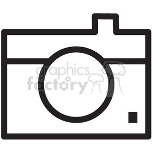 photo camera vector icon clipart. Royalty-free image # 398606