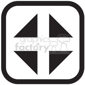 close minimize vector icon clipart. Royalty-free icon # 398611