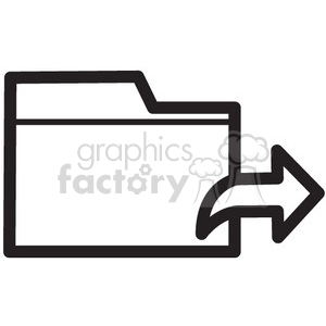 export file vector icon clipart. Royalty-free image # 398631
