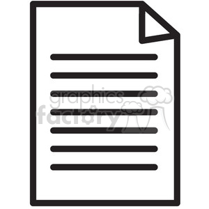 document vector icon photo. Royalty-free photo # 398645