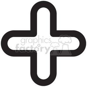 icon icons black+white outline symbols SM vinyl+ready math add addition