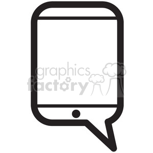 text me vector icon clipart. Royalty-free image # 398695