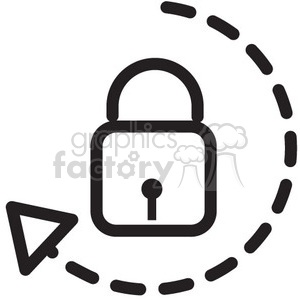 unlock vector icon