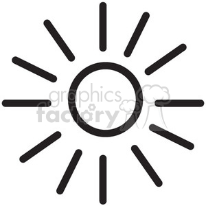 icon icons black+white outline symbols SM vinyl+ready power solar energy sun