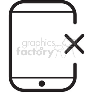 remove from device vector icon clipart. Royalty-free image # 398750