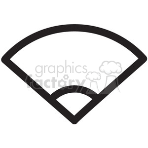 wifi wireless half signal vector icon clipart. Commercial use image # 398755