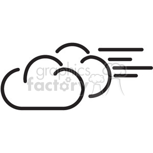 weather windy vector icon clipart. Commercial use image # 398765