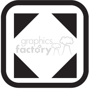expand vector icon clipart. Royalty-free image # 398770