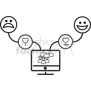social media insta mood clipart. Royalty-free image # 398789