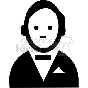butler vector icon clipart. Commercial use image # 398851