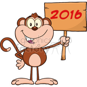 monkey animal cartoon 2016