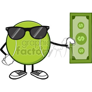 nature weather summer sun sunny cartoon tennis+ball money cash