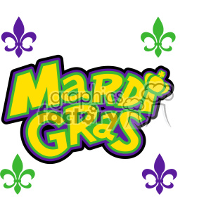 mardi gras svg cut files vector art clipart. Royalty-free image # 403026