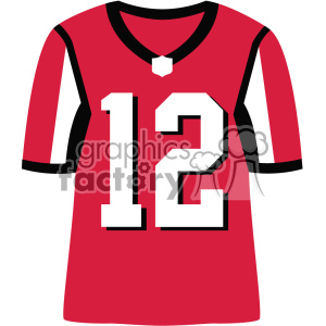 falcons football jersey vector svg cut files art clipart. Royalty-free image # 403036
